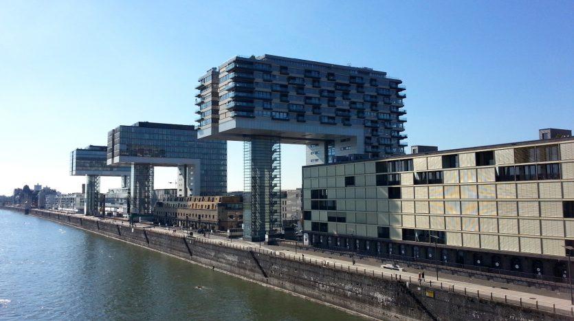 Rheinauhafen - Die berühmten Kranhäuser