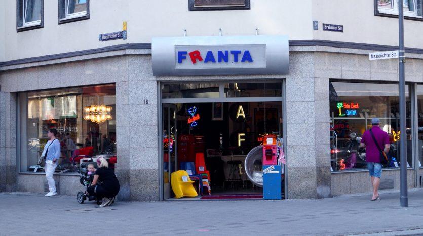 Designobjekte aus den letzten 100 Jahren bei Franta