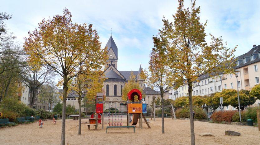 Parks in Sülz - Nikolausplatz