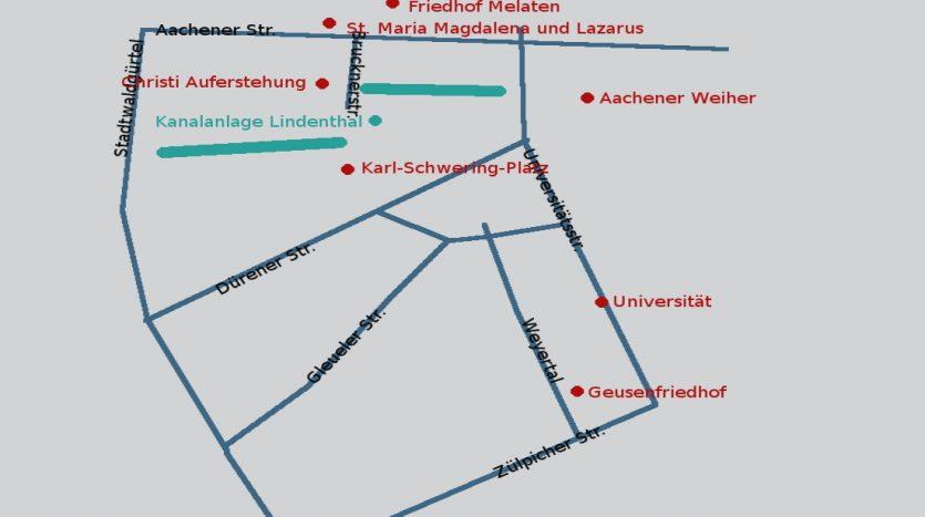Kulturpfad Lindenthal: Erster Spaziergang