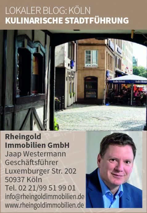 Immobilienmakler Köln Expertentipp Kulinarische Stadtführung