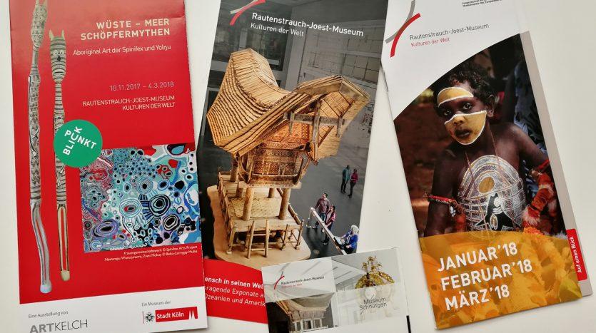 Rautenstrauch-Joest-Museum - Ausstellung Aboriginal Kunst