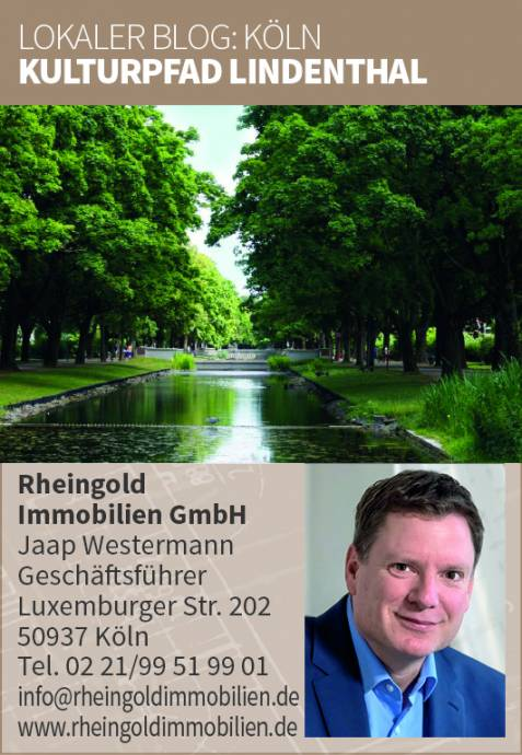 Immobilienmakler Köln Expertentipp Kulturpfad Lindenthal