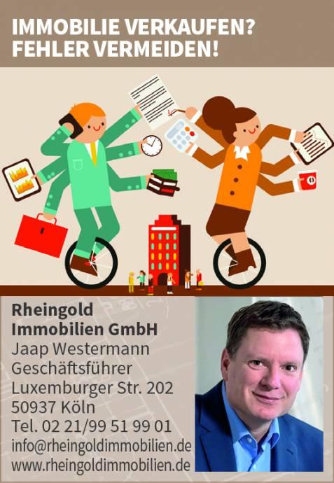 Immobilienmakler Köln Expertentipp: Immobilie verkaufen