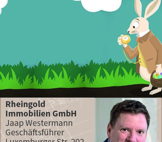 Immobilienmakler Köln Expertentipp: Osterhase wohnen