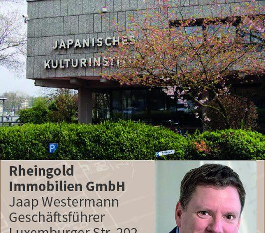 Rheingold Immobilien Köln Expertentipp: Japanisches Kulturinstitut Köln