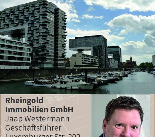 Expertentipp Sporthafen Köln, Immobilienmakler Köln