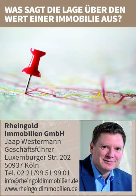 Immobilienmakler Köln Expertentipp: Auswirkung der Lage auf den Preis