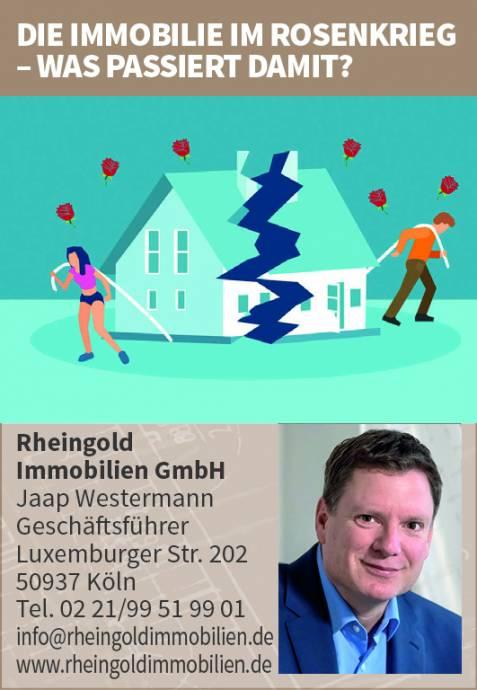 Immobilienmakler Köln Expertentipp: Scheidung und Rosenkrieg. Was tun mit der Immobilie?