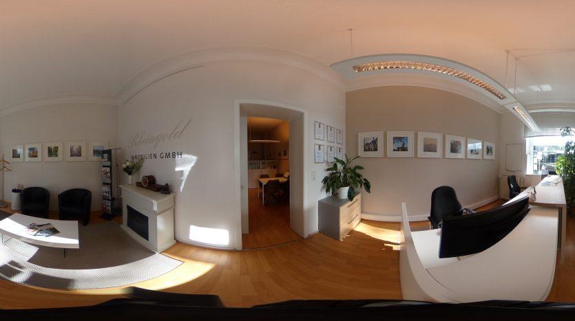 Immobilienmakler Köln Expertentipp: 360 Grad Besichtigungen, Immobilienkino, virtuelle Tour