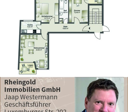 Immobilienmakler Köln Expertentipp Grundriss ein muss für den Verkauf